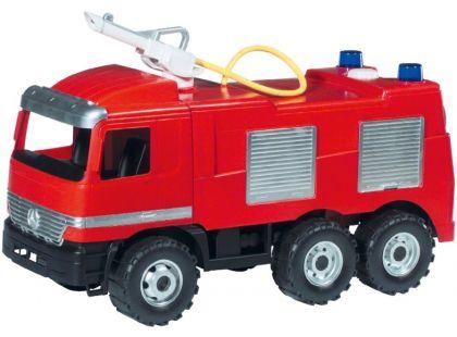 LENA 02028 Mercedes požární auto - hasiči - II.jakost
