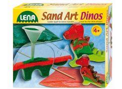 Lena Fotorámečky z barevným pískem, malé dinosaurus