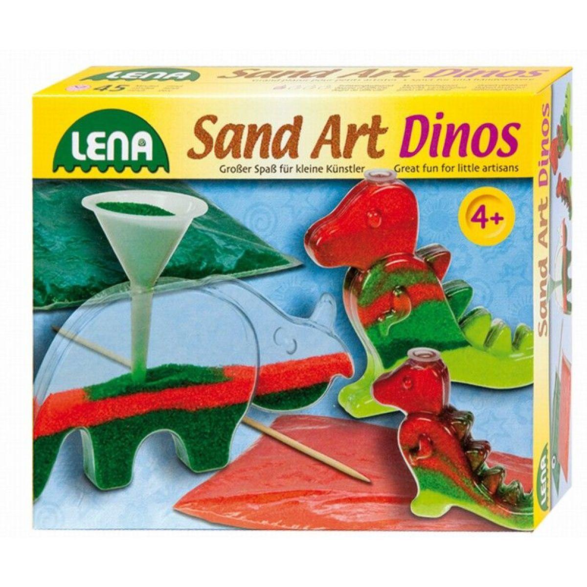 Lena Fotorámečky z barevným pískem Malý dinosaurus 2