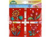 Lena Kreslící šablony 4ks - Květiny