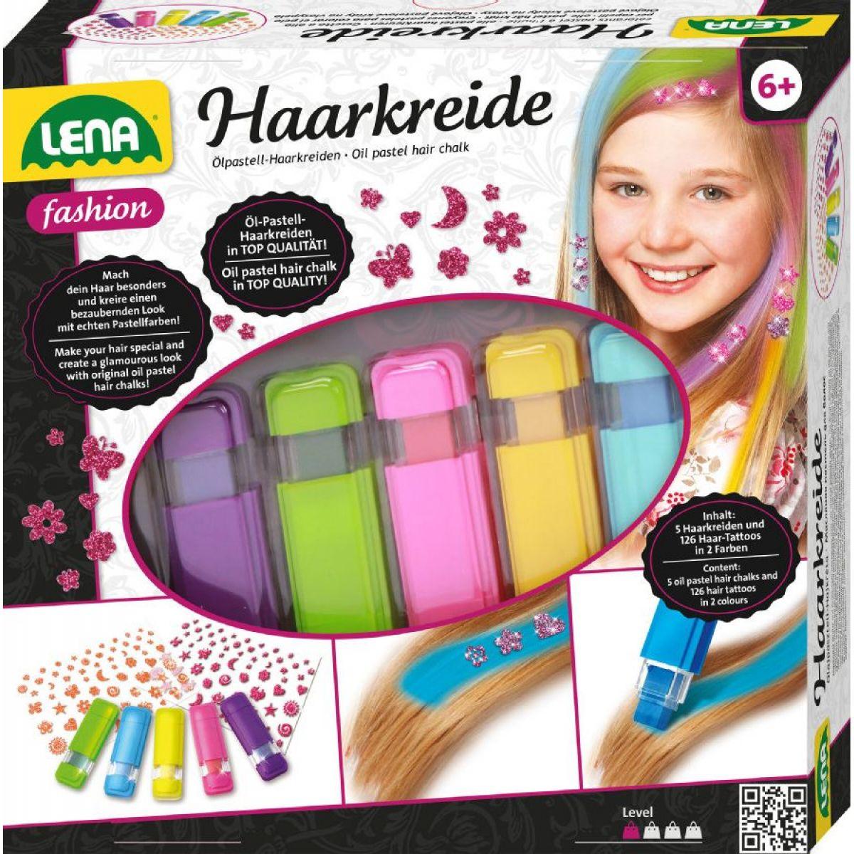Lena Křídy na vlasy