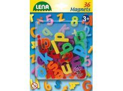 Lena Magnetická písmena malá 36 ks