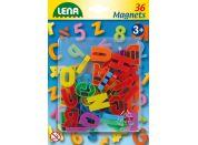 Lena Magnetická písmena velká 36 ks