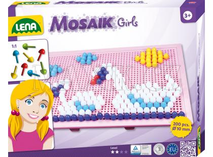 Lena Mozaika velká 200ks pro holky