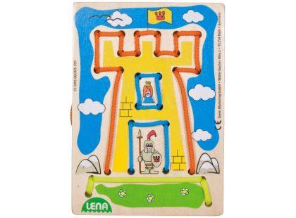 Lena Navlékací obrázek Větrný hrad