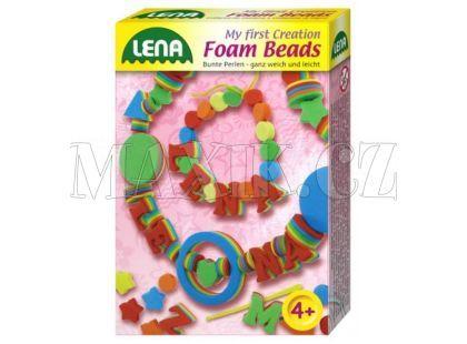 Lena Pěnové perly Písmo