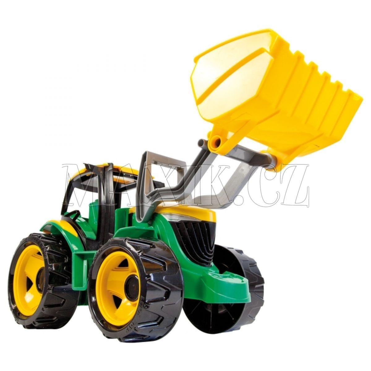 Lena traktor se lžící maxíkovy hračky