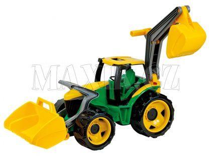 Lena Traktor se lžíci a bagrem