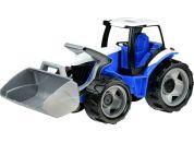 Lena Traktor se lžící modro šedý hnědý kartón