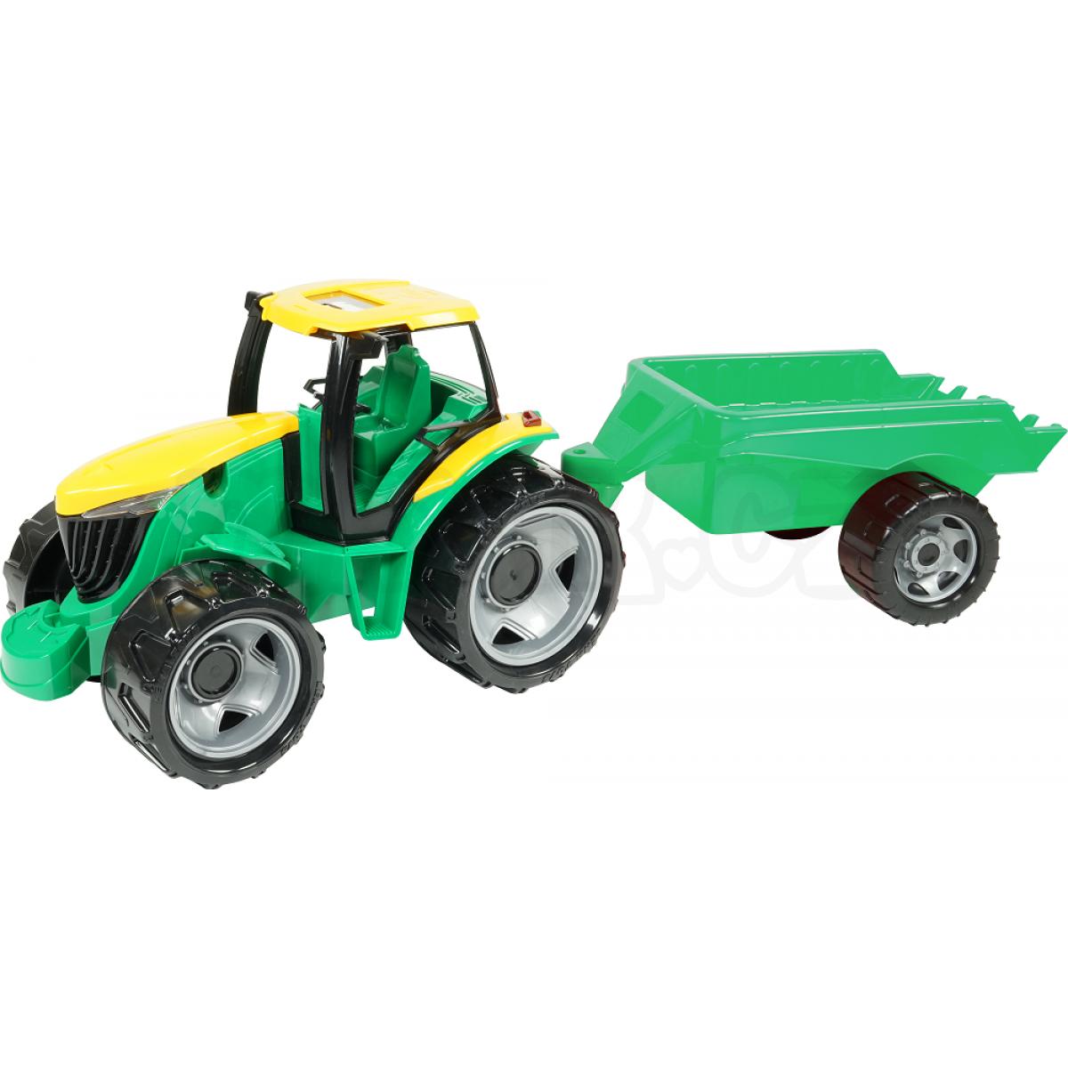Lena velký traktor s přívěsem cm maxíkovy hračky