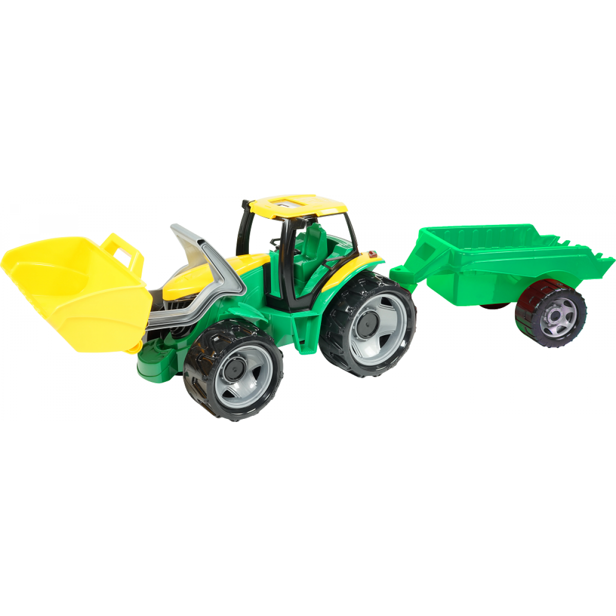 Lena Velký traktor se lžící a přívěsem 110 cm