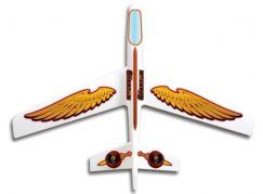 Letadlo Spartan white glider rozpětí 93 cm