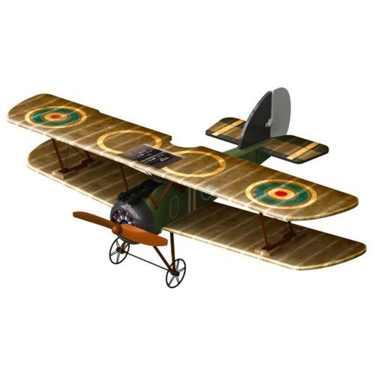 Letadlo X-Twin:R/C Sopwith Camel Silverit - Hnědá