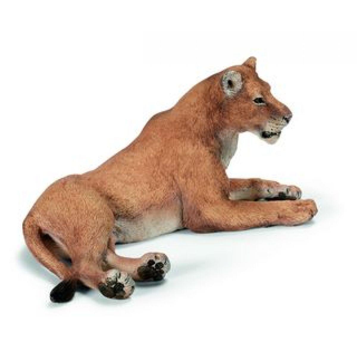 Lev lvice ležící Schleich 14375