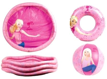Licence Only Nafukovací set Barbie