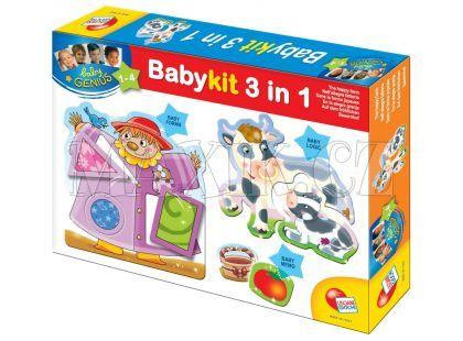 Lisciani Giochi Baby genius aktivity 3v1
