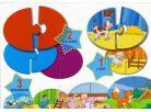 Lisciani Giochi Baby Genius Baby skládačka 3v1 - Kde zvířátka bydlí? 2