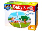 Lisciani Giochi Baby Genius Baby skládačka 3v1 - Před a Po