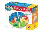 Lisciani Giochi Baby Genius Baby skládačka 3v1 - Kde zvířátka bydlí?