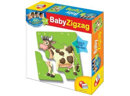 Lisciani Giochi Baby Genius Baby Zvířátka - Zvířátka z farmy