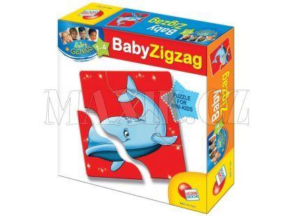 Lisciani Giochi Baby Genius Baby Zvířátka - Mořská zvířátka
