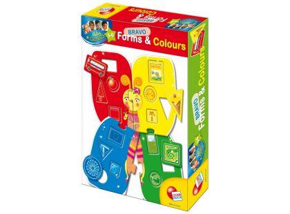 Lisciani Giochi Baby genius Poznej tvary a barvy