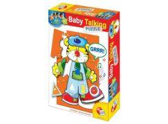Lisciani Giochi Baby genius Puzzle se zvukem
