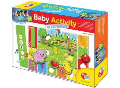 Lisciani Giochi Baby genius Zvířátka na farmě se zvuky
