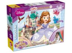 Lisciani Giochi Disney Sofia Puzzle 2v1 108dílků
