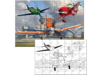 Lisciani Giochi Planes Puzzle 2v1 35 dílků