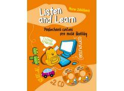 Listen and Learn Poslechová cvičení pro malé školáky + 2 CD