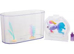 Little Live Pets Plavající rybka s akváriem