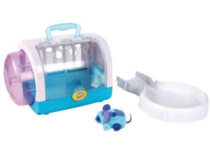 Little Live Pets Myší domek - Modrá myška