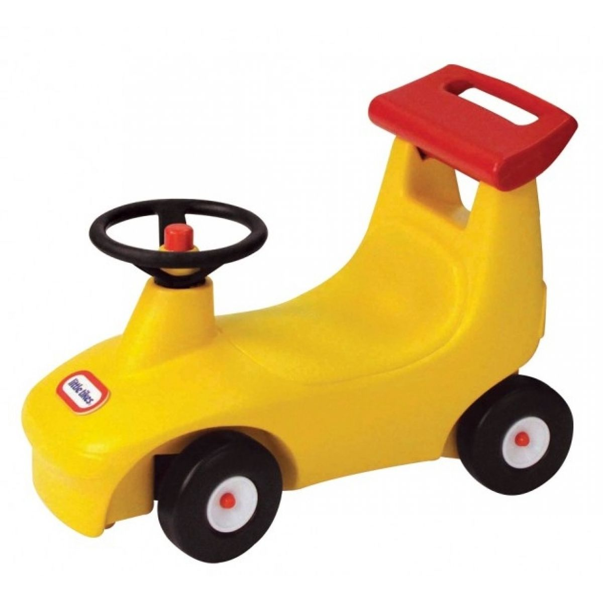 Little Tikes Chodítko a odrážedlo autíčko Žluté