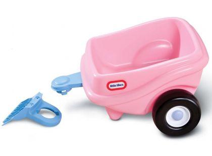 Little Tikes Cozy Coupe přívěs růžový