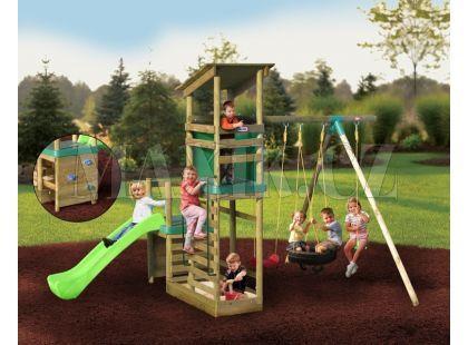 Little Tikes Dřevěné hrací centrum Buckingham