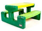 Little Tikes Evergreen Piknikový stoleček velký - Poškozený obal