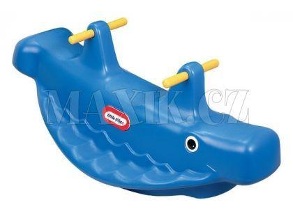 Little Tikes Houpačka velryba Modrá