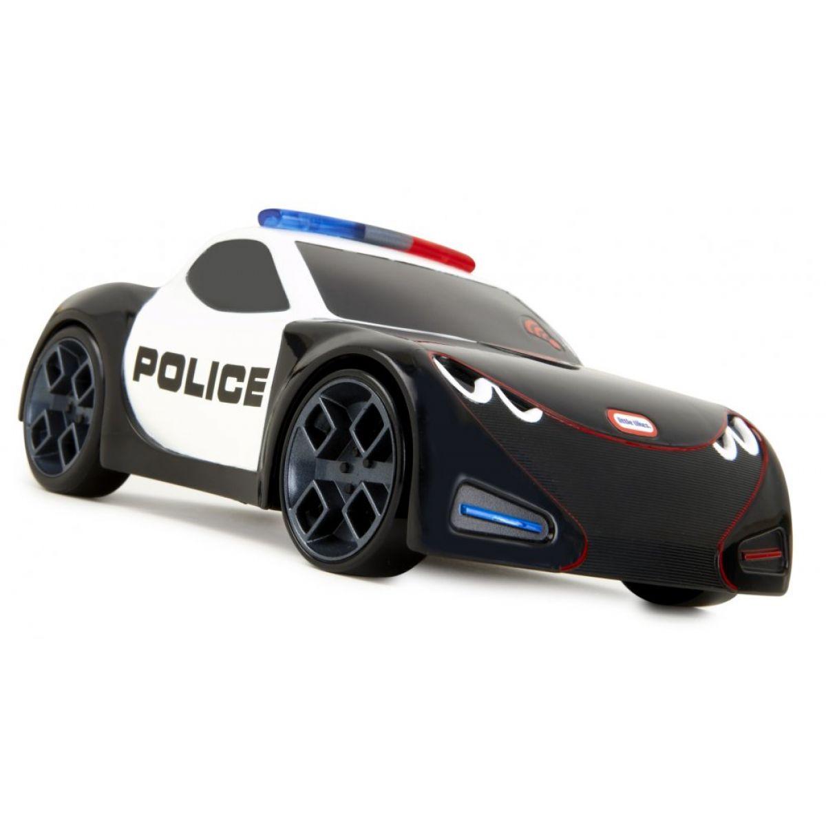Little Tikes Interaktivní autíčko policejní černé