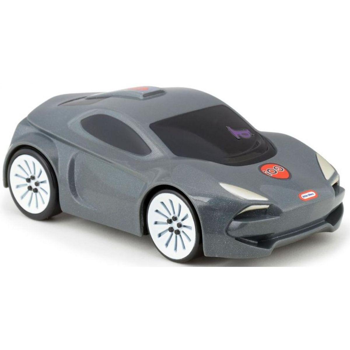 Little Tikes Interaktivní autíčko Sporťák šedý