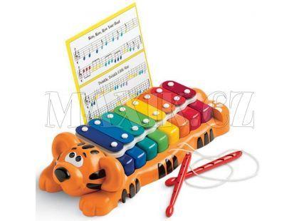 Little Tikes Jungle Jamboree Tygřík klavír a xylofon