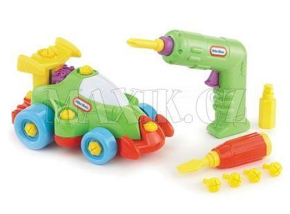 Little Tikes Malý konstruktér - Závodní auto