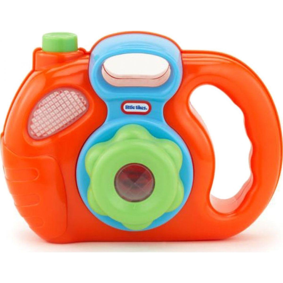 Little Tikes Můj první fotoaparát - Oranžová