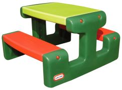 Little Tikes Piknikový stoleček Junior Evergreen