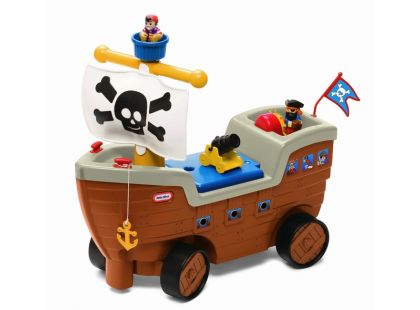 Little Tikes Pirátská loď Odrážedlo se zvuky