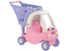Little Tikes Princess Cozy Coupe Nákupní vozík