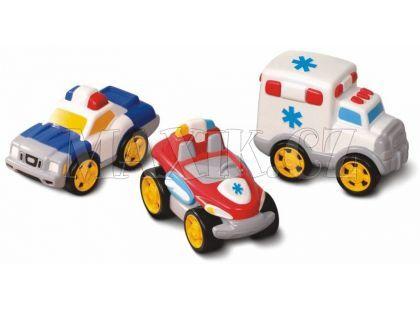 Little Tikes Sada tří autíček – sanitka, policie a hasič