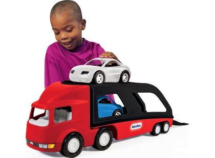 Little Tikes Tahač s návěsem pro přepravu aut