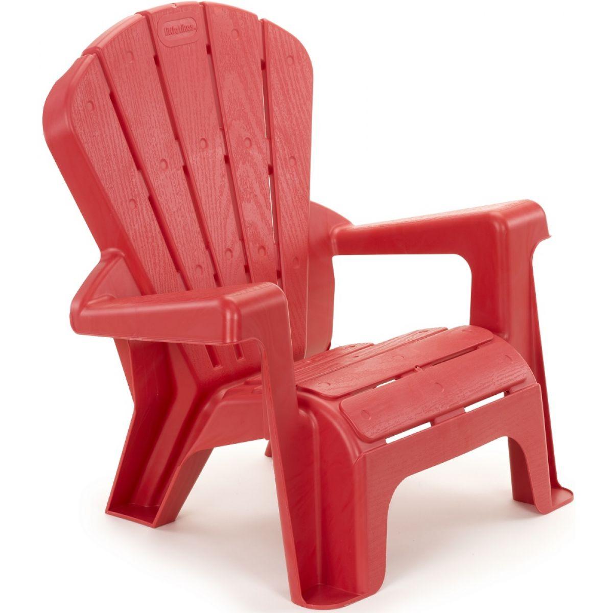 Little Tikes Zahradní židlička červená