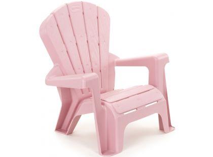 Little Tikes Zahradní židlička růžová